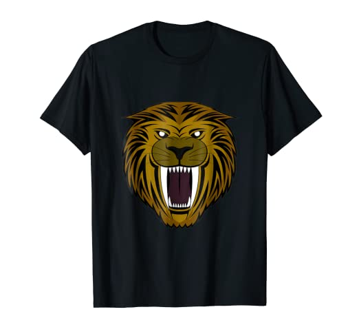 d27028801 Image Unavailable. Image not available for. Color: Saber Tooth Tiger Tshirt
