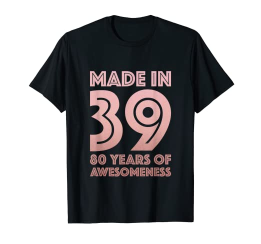 Image Unavailable Not Available For Color 80th Birthday Shirt Grandma Mom 80 Year Old Women Gifts