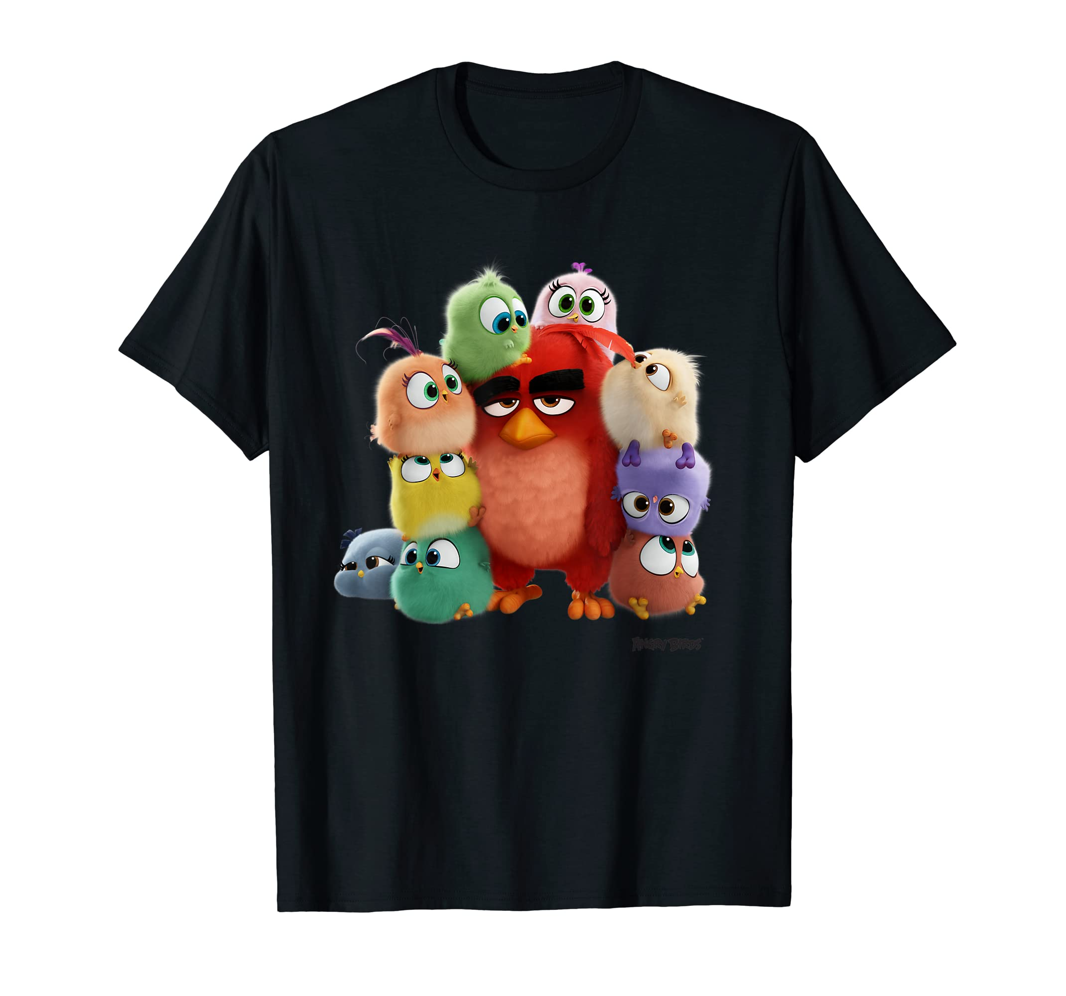 Angry Birds Hatchlings Takeover T-Shirt Official Merchandise-Men's T-Shirt-Black