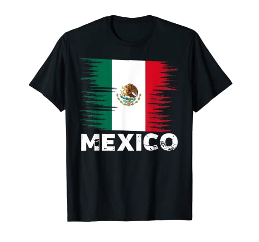 Image Unavailable. Image not available for. Color  Mexico - Mexican Flag  Shirt  bf4fd0086