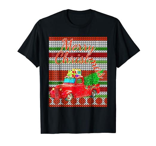Vintage Christmas Sweaters.Amazon Com Merry Christmas Vintage Ugly Christmas Sweater