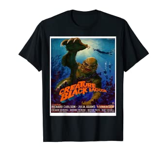 5f1bbbaad8 Amazon.com: Vintage Monster Movie Classic Horror Movie Shirt: Clothing