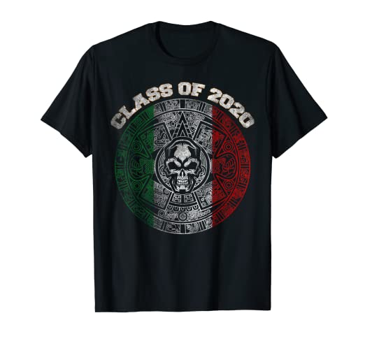 Mexican Calendar 2020 Amazon.com: Class of 2020 Aztec Mayan Calendar Skull Mexican