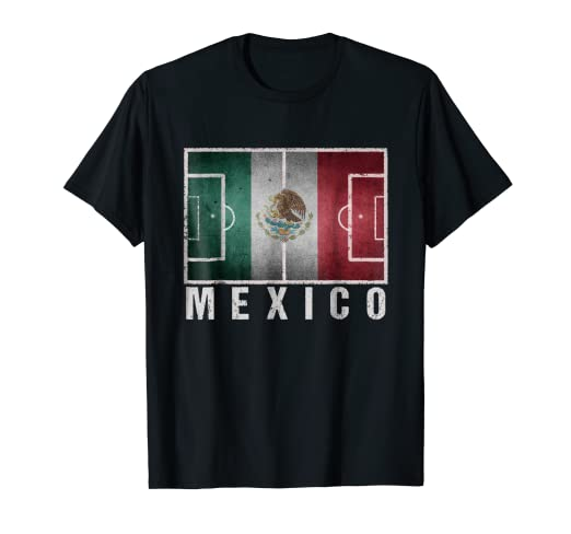 b9560bd76 Image Unavailable. Image not available for. Color  Mexico National Soccer  Team Futbol T-Shirt-2018 ...