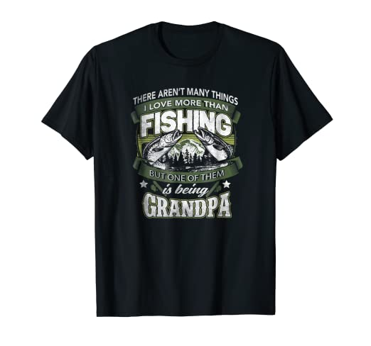 c9bd4f03 Image Unavailable. Image not available for. Color: Mens Fishing Grandpa  Shirt Reel Cool Grandpa t-shirt
