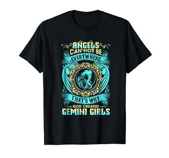 Amazon Funny Birthday Tshirt Great Gifts For Gemini Girls