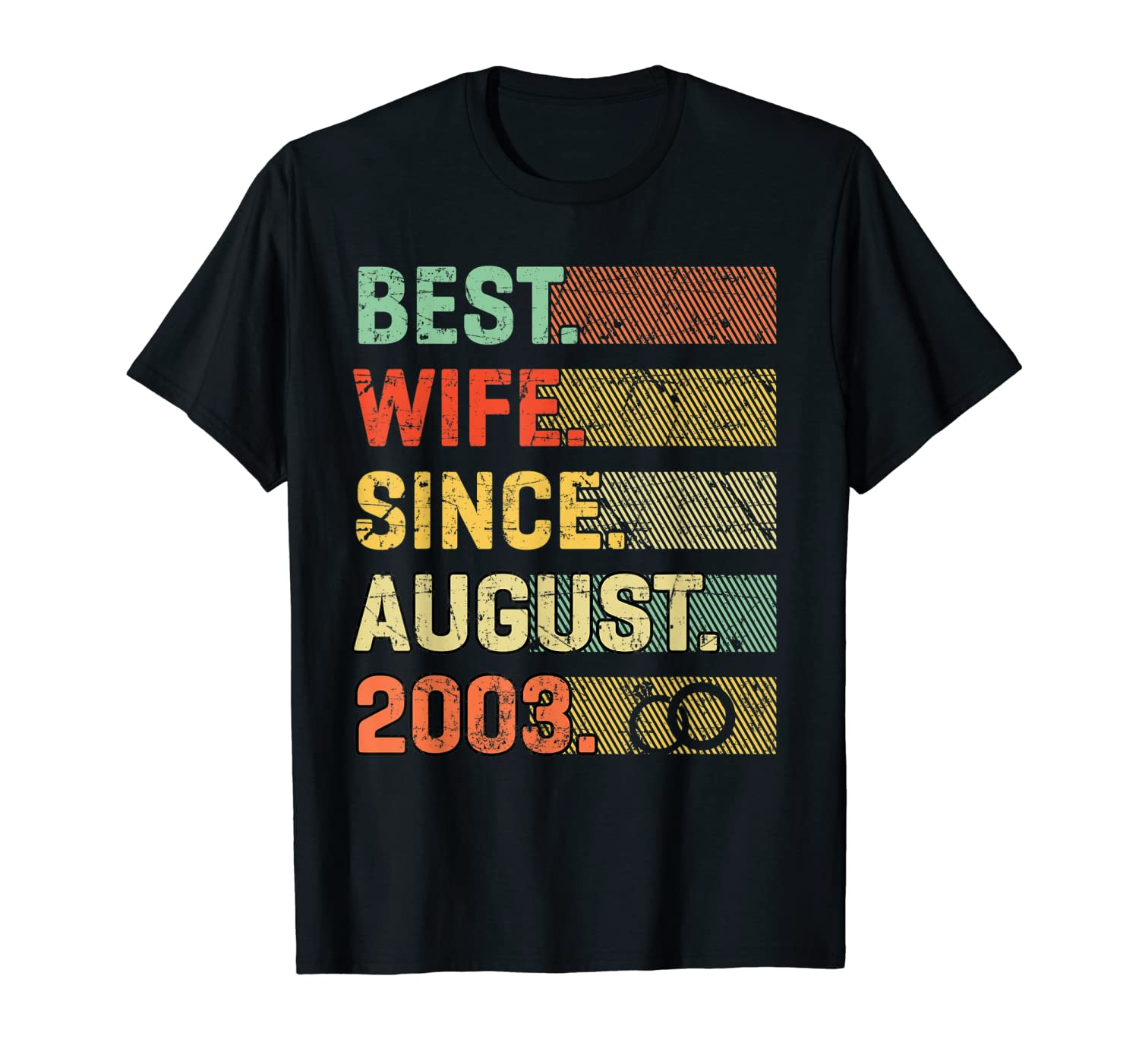 16th Wedding Anniversary Gift Best Wife Since August 2003
