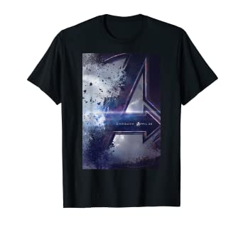 652ca7af7fe Image Unavailable. Image not available for. Color  Marvel Avengers Endgame  Movie Poster Graphic T-Shirt