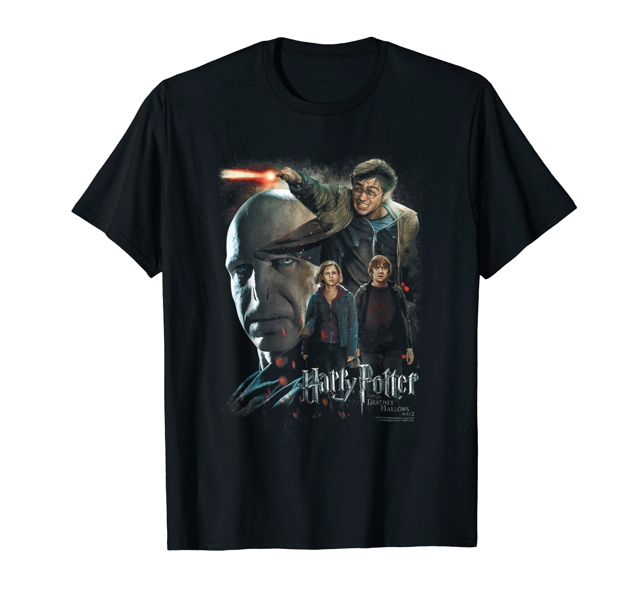 Harry Potter Final Fight T Shirt-azvn