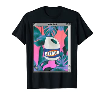 892bbd0da Amazon.com: Vaporwave Aesthetic Bleach T-Shirt: Clothing