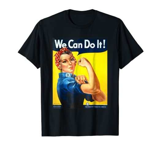 84bf25128 Image Unavailable. Image not available for. Color  We Can Do It T-shirt