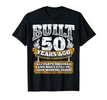 Amazon Funny 50th Birthday Shirt B Day Gift Saying Age 50 Year