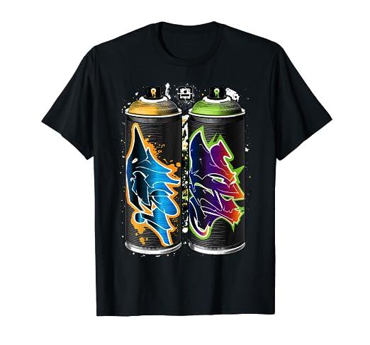 Graffiti Spray Paint Cans - The Pillars of Urban Art T-Shirt