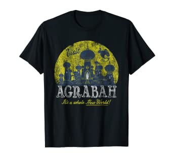 Image result for Disney Aladdin Genie Visit Agrabah Palace Vintage T-Shirt