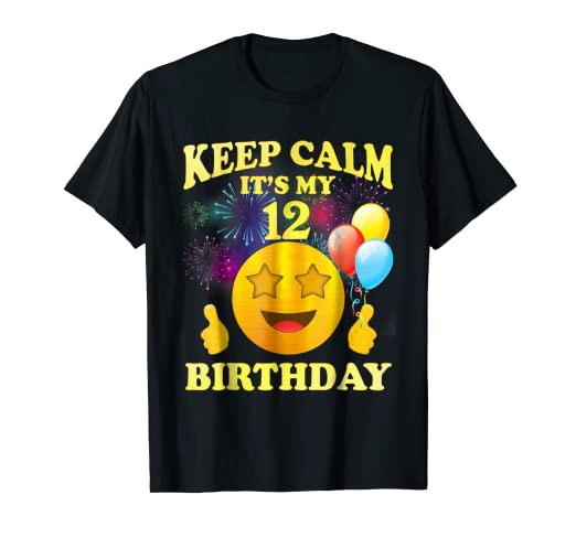 Image Unavailable Not Available For Color Its My 12th Birthday Shirt 12 Years Old