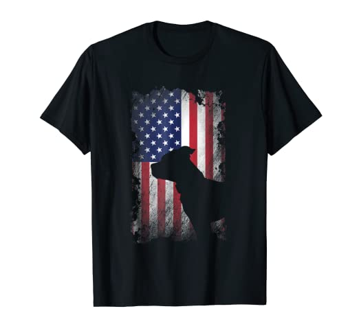 975d9995 Amazon.com: American Pit Bull Terrier USA Flag Shirt Patriotic Dog ...