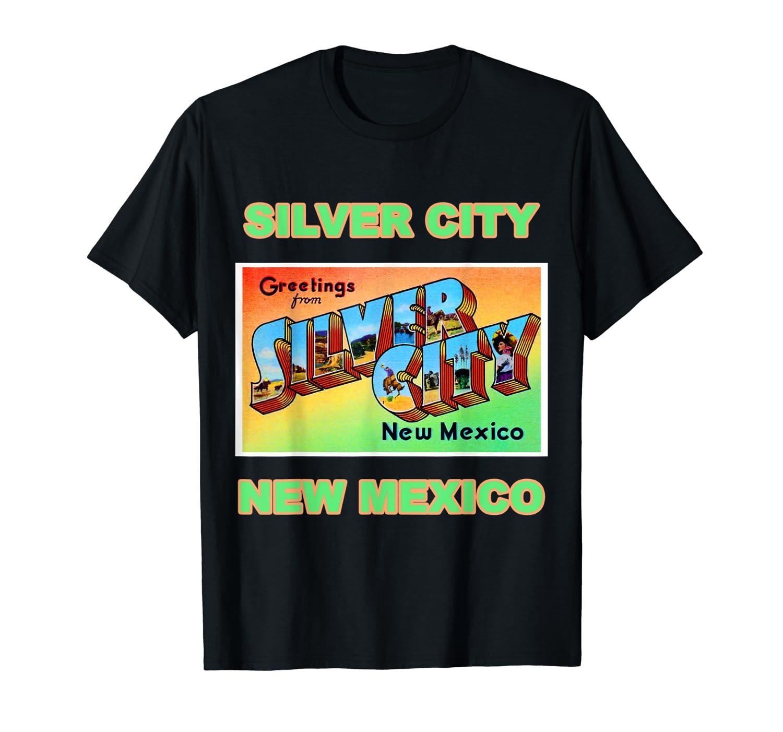 Lotta Shirts Silver City New Mexico Postcard T Shirt
