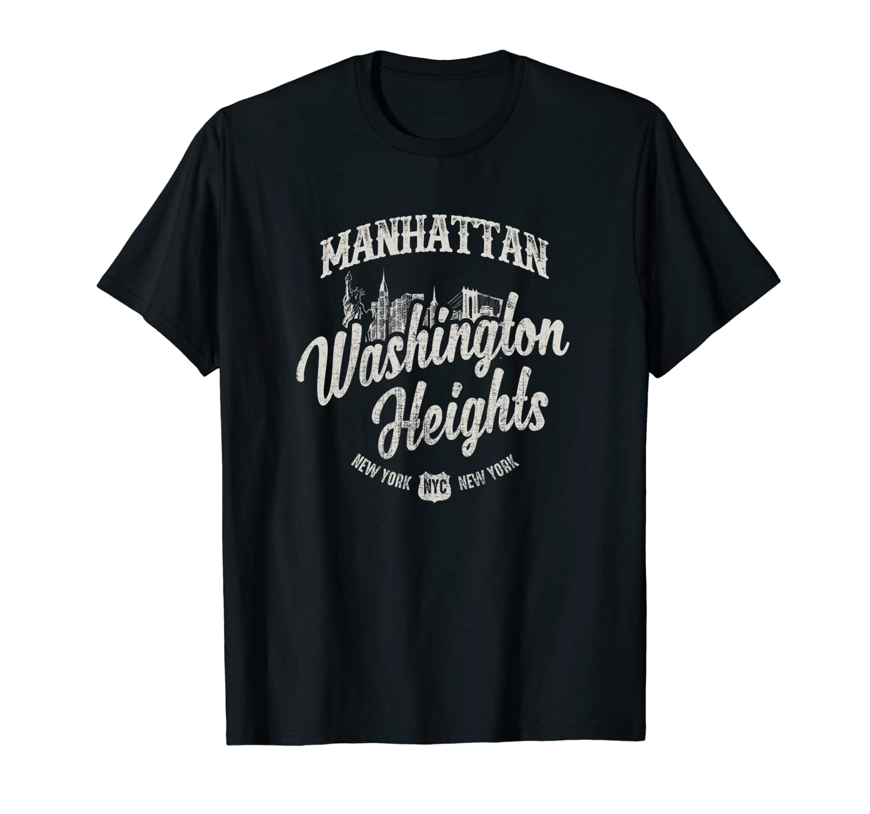 New York Manhattan Washington Heights T Shirt