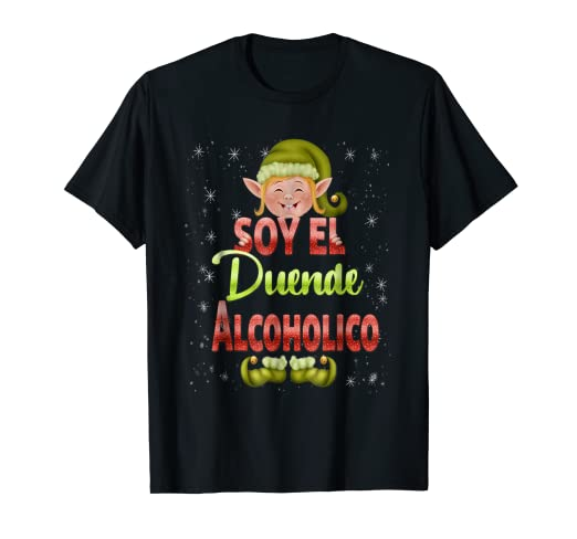 Amazoncom Soy El Duende Alcoholico Graciosa T Shirt