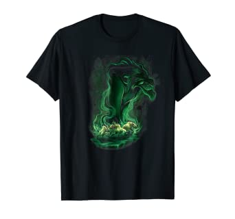 7b09aeda Amazon.com: Disney Lion King Scar Smoke Graphic T-Shirt: Clothing
