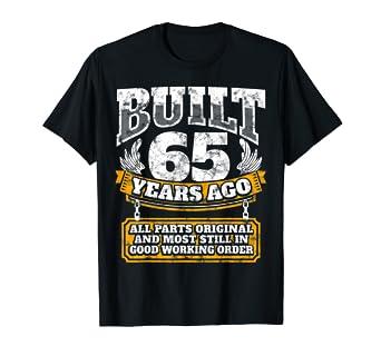 Amazon Funny 65th Birthday Shirt B Day Gift Saying Age 65 Year