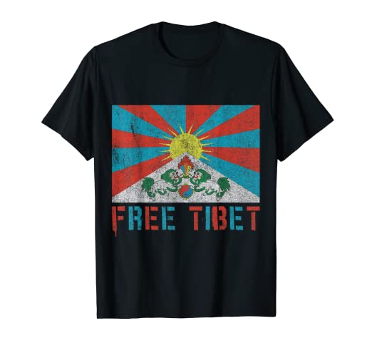 391e2d0c30 Amazon.com: Free Tibet T-Shirt: Clothing
