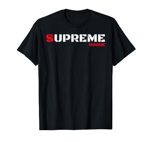Supreme T Shirt Rogue Bad Boy Tee Military Style Tshirt T Shirt