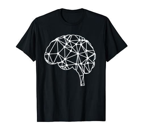 Neural Network Anatomy Brain Art T Shirt