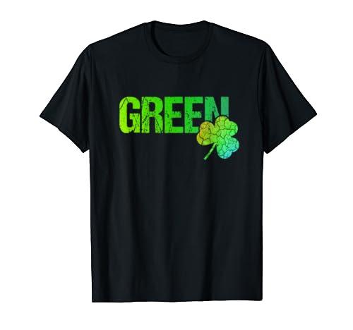 Green Shamrock St. Patricks Day   Green T Shirt