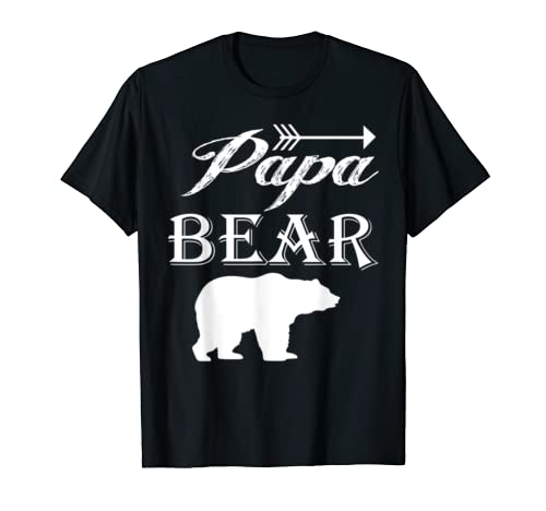 Papa Bear   Father's Day   Cute Graphic T Shirt