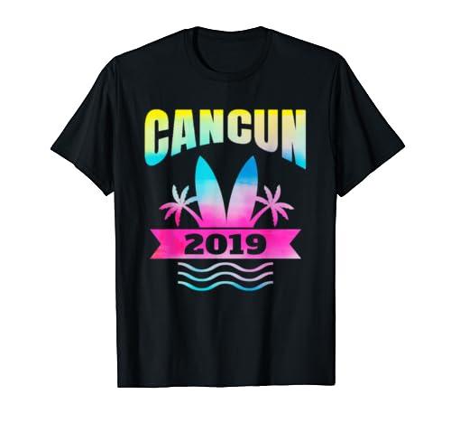2019 Cancun Vacation Shirt Beach Souvenir Gift