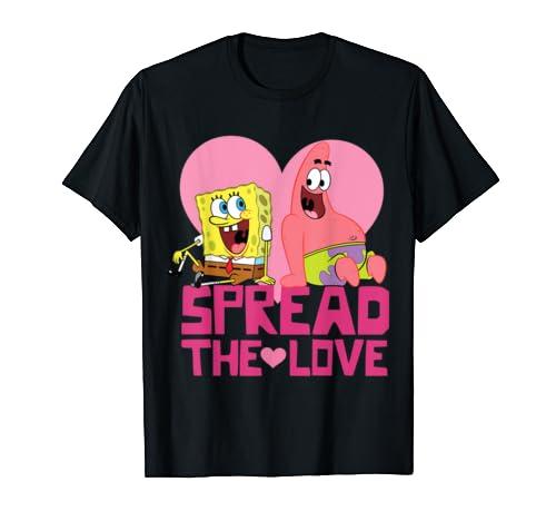 Spongebob And Patrick Spread The Love T Shirt