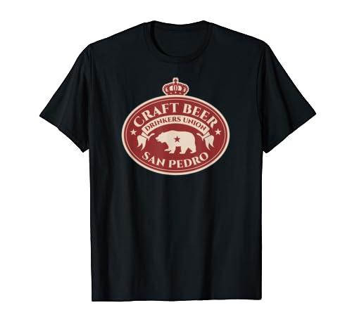Craft Beer Drinkers Union   San Pedro California T Shirt