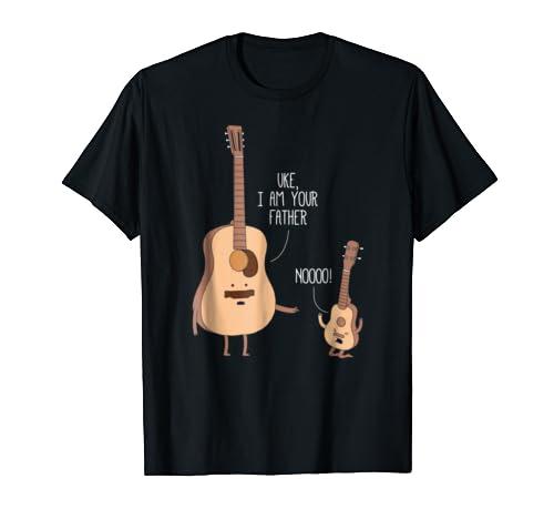 Father Shirt Ukulele Guitar Music product image