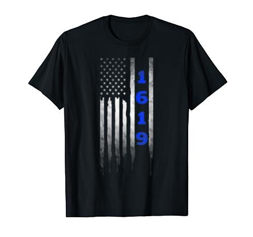 Project 1619 Our Ancestors American Flag T Shirt