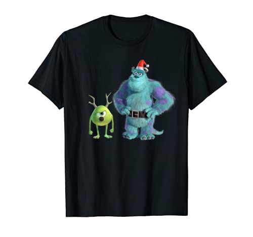 Disney Pixar Monsters, Inc. Mike And Sulley Holiday T Shirt