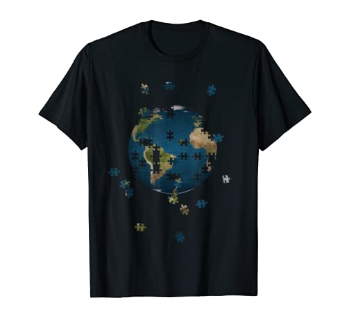Puzzle Day Earth T-Shirt