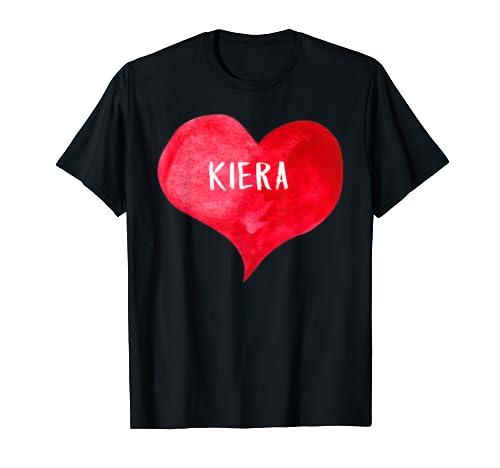 I Love Kiera   Love Heart Shirt, Gifts Valentine's Day T Shirt