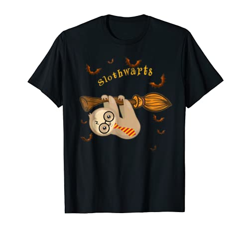 Tee Harry Cute Sloth, Slothwarts Potter Halloween Shirt Tank T Shirt