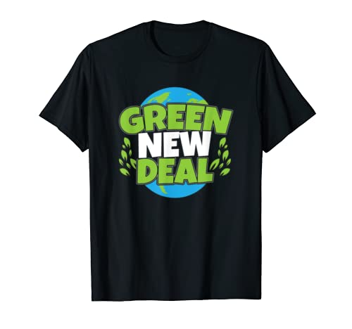 Pro Green New Deal Earth Day Climate Change AOC T-Shirt