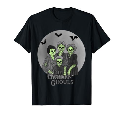 The Golden Ghouls Custom Gift For Women, Men Halloween T Shirt
