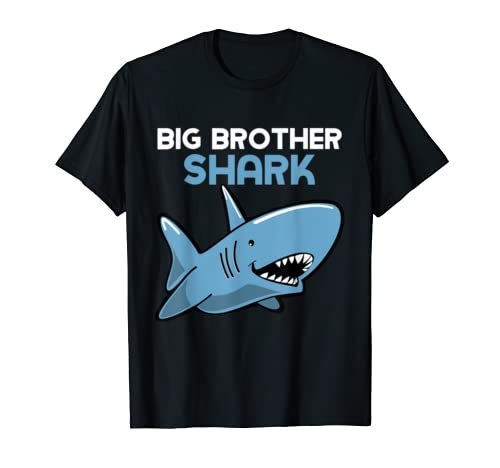 Big Brother Shark Funny Family Gift T Shirt