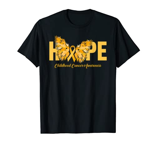 Cool Hope Childhood Cancer Awareness Costume Ribbon Gift T Shirt