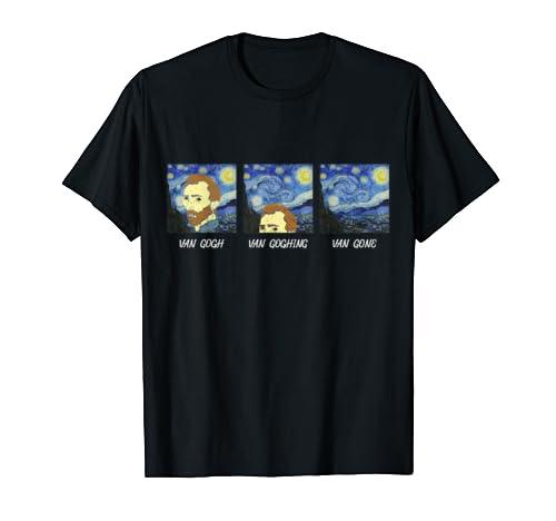 Van Gogh Van Goghing Van Gone   Funny Vincent Van Gogh T Shirt