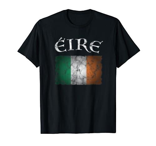 Eire Ireland Flag T Shirt I Irish St. Patricks Day Idea