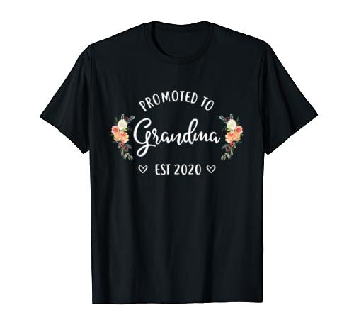 Promoted To Grandma Est 2020 New Grandma T Shirt