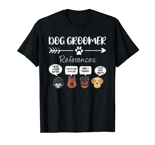 Dog Groomer Gift Funny Dog Grooming Shirt Dog Salon Spa T Shirt