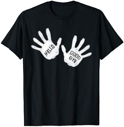 FB Umbrella Academy Hello Goodbye Inspired T-Shirt Black