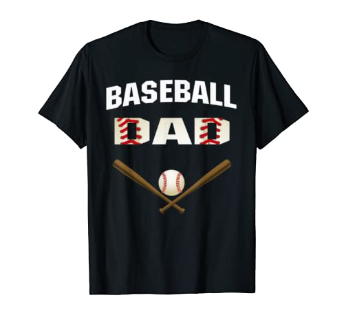 Mens Baseball Dad Shirt   Best Gift Idea For Fathers Tee T Shirt