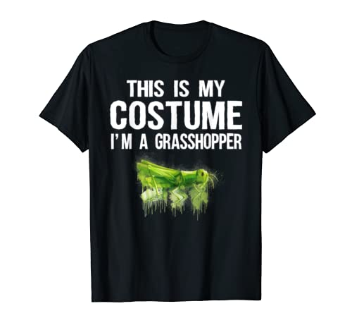 This Is My Costume I'm A Grasshopper T Shirts Cute Halloween